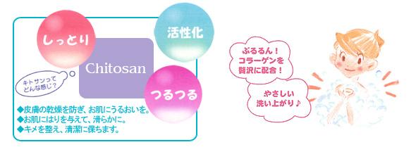 天然素材を贅沢に使用したキトサン石鹸!